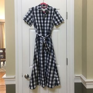 NWT Kate spade long elegant fun Hampton dress